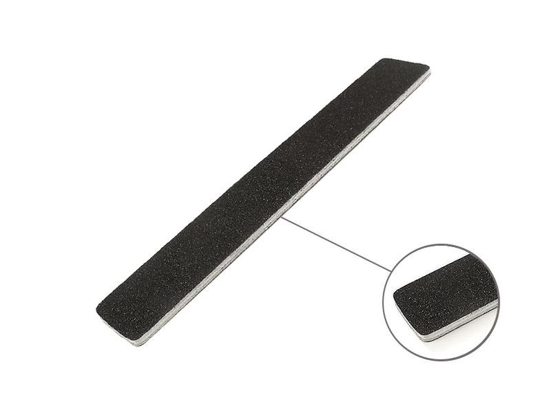 Profesionálny pilník široký čierny 100/180