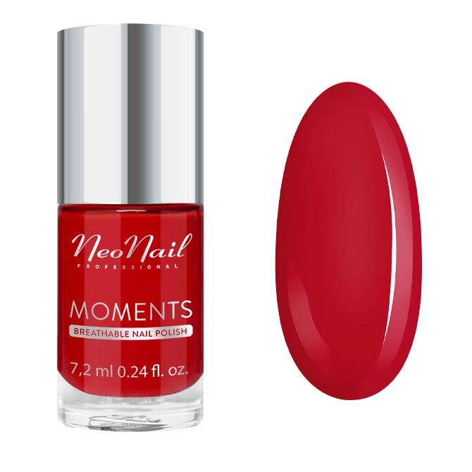 Lak na nechty Neonail® 7,2m Sexy Red