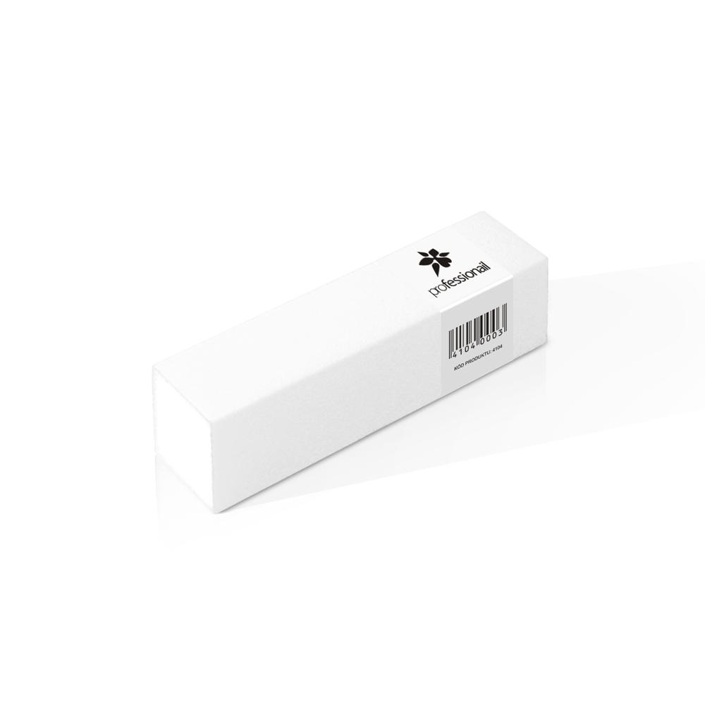 Brúsny blok na nechty Professionail® biely