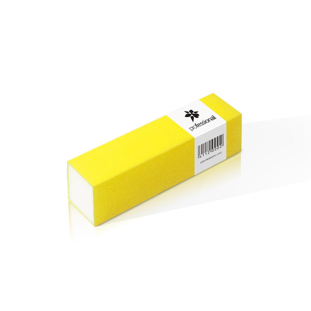 Brúsny blok na nechty Professionail® neón žltý