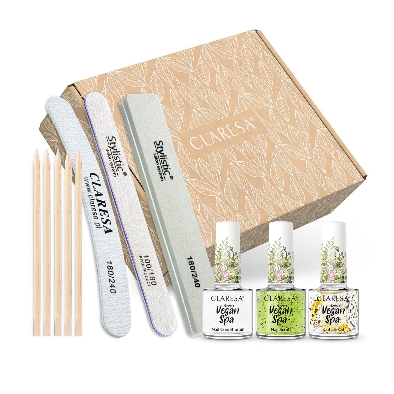 Claresa® výživná sada na nechty Spa Green power