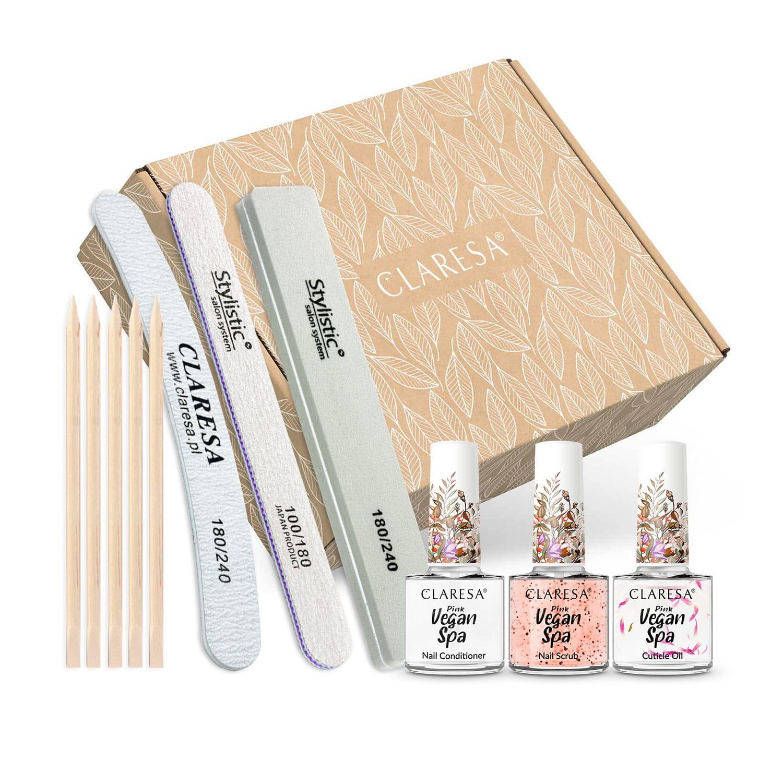 Claresa® výživná sada na nechty Spa Pink power
