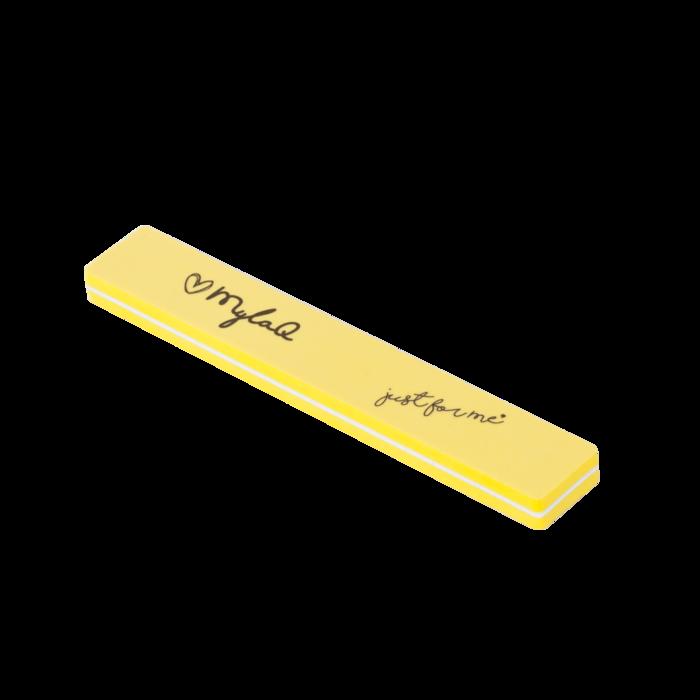 Prémiový pilník na nechty Mylaq® 100/180 žltý