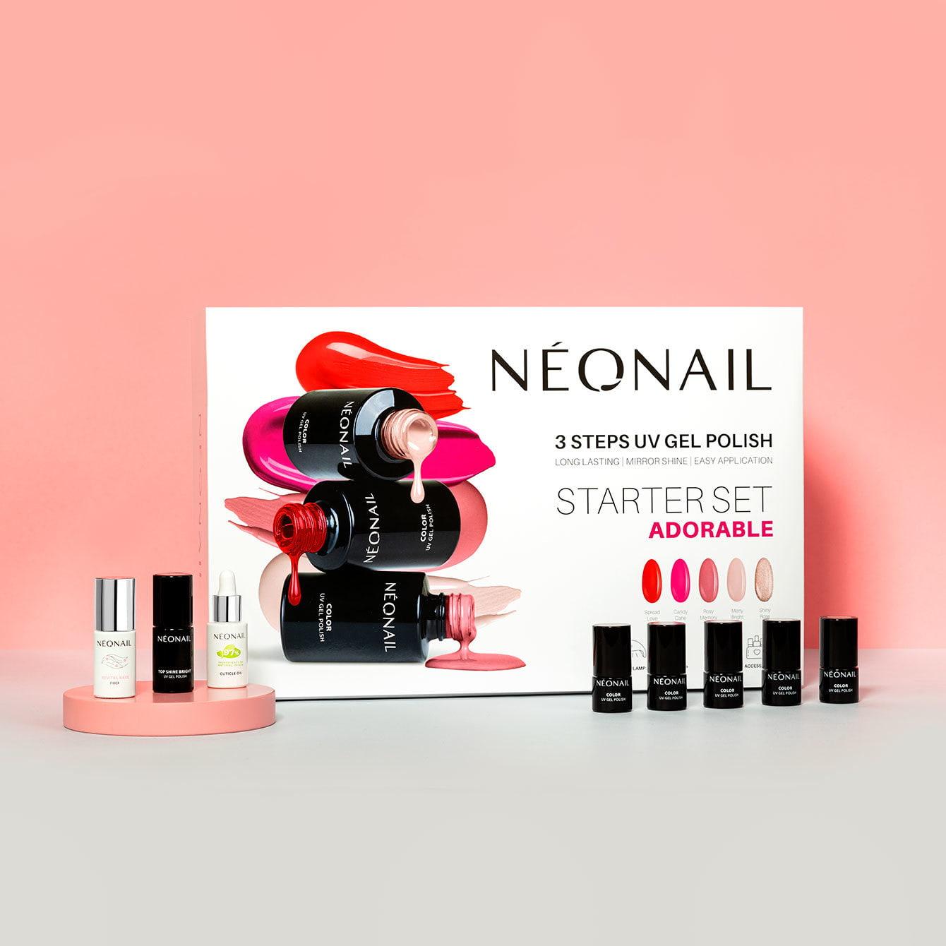Sada na gél lak NeoNail® Adorable